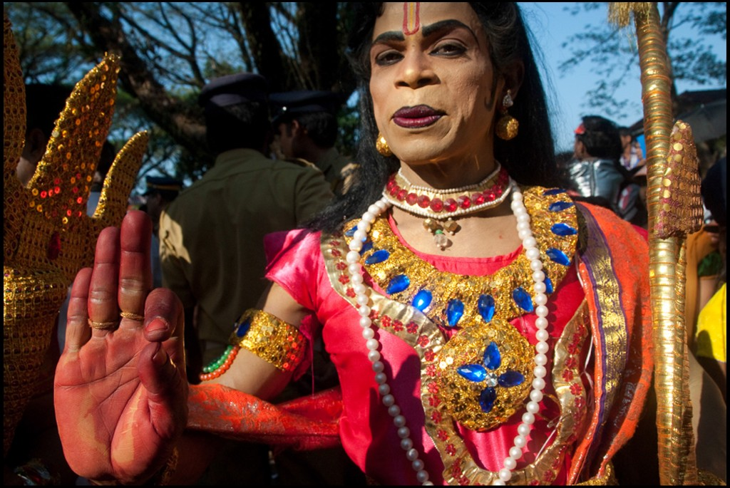 Photo of a parade: New Year's Day, Cochin, Kerela, India © Hinda Schuman