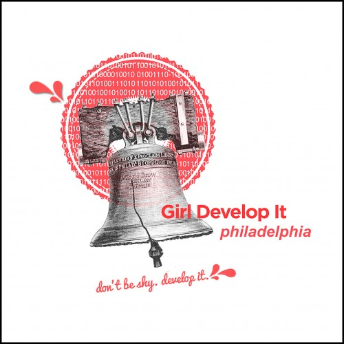 Logo for Girl Develop It, a nationwide organization for tech savvy women