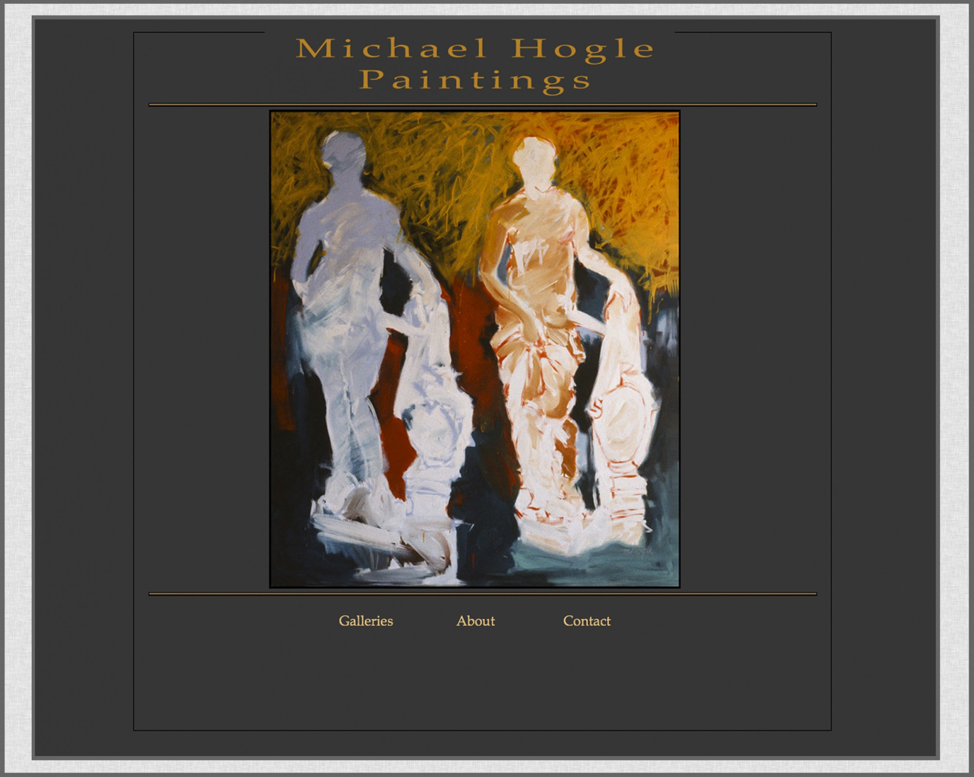 home page of michaelhogle.com